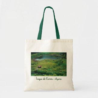 Lagoa do Carvao - Azores Budget Tote Bag