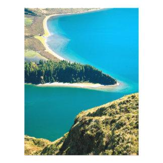 Lagoa do Fogo 21.5 Cm X 28 Cm Flyer