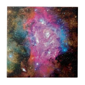Lagoon Emission Nebula Interstellar Cloud Photo Tile