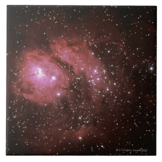 Lagoon Nebula Large Square Tile