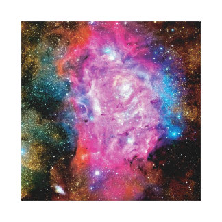 Lagoon Nebula NGC 6523 Gallery Wrap Canvas