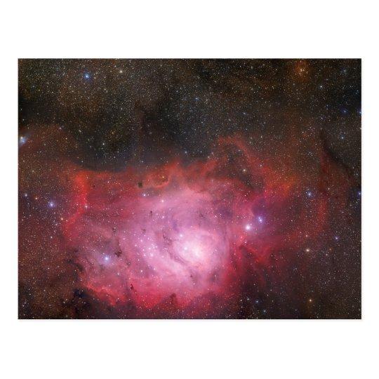 Lagoon Nebula Postcard
