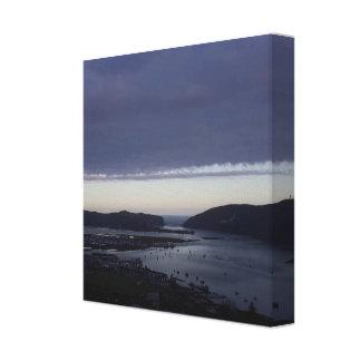 Lagoon Print Canvas