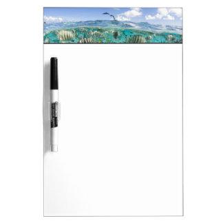 Lagoon safari trip featuring Stingrays Dry Erase Board