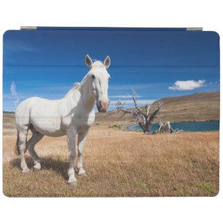 Laguna Azul, landscape with horses iPad Cover