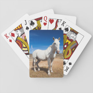 Laguna Azul, landscape with horses Playing Cards