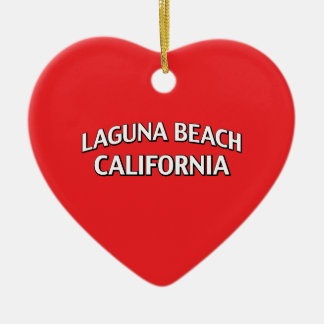 Laguna Beach California Christmas Ornament
