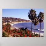 Laguna Beach California, eff01 Poster