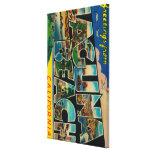 Laguna Beach, California - Large Letter Scenes Canvas Prints