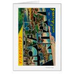 Laguna Beach, California - Large Letter Scenes Greeting Card