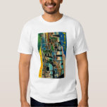 Laguna Beach, California - Large Letter Scenes T-shirt