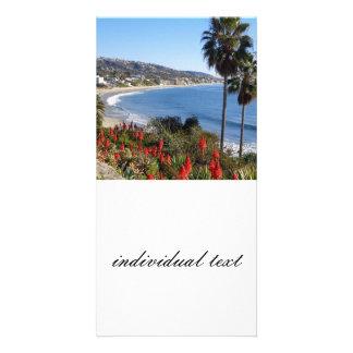 Laguna Beach Californien Personalized Photo Card