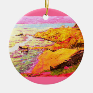 laguna beach cove christmas ornament