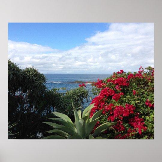 Laguna Beach Ocean View Poster