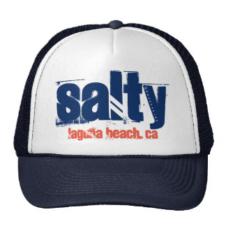 "Laguna Beach ""Salty"" Trucker Hat"