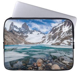 Laguna De Los Tres And Mount Fitzroy Laptop Sleeve