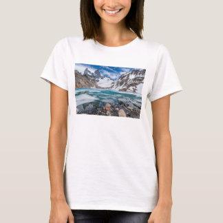 Laguna De Los Tres And Mount Fitzroy T-Shirt