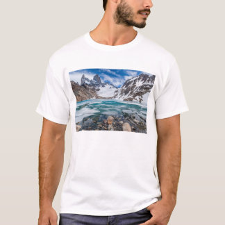 Laguna De Los Tres And Mount Fitzroy T-Shirt
