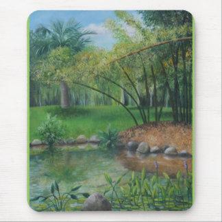 Laguna del palmar mouse pad