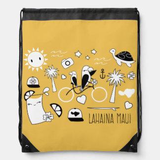 """""""Lahaina Maui"""" Bag Backpack"""