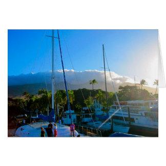 Lahaina, Maui Greeting Card