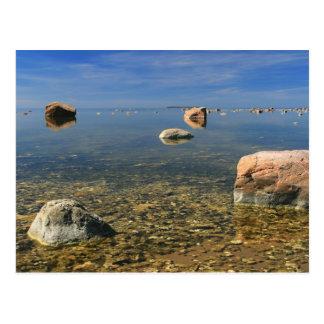"""""""Lahemaa seascape"""" postcard"""