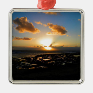 Lahinch, Ireland Sunset Christmas Ornament