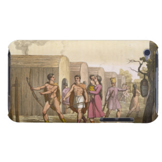Lahoutan Indians, Canada (colour engraving) Barely There iPod Case