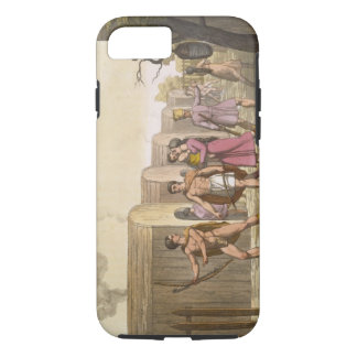 Lahoutan Indians, Canada (colour engraving) iPhone 8/7 Case