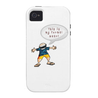 Laid Back Cruise Formal iPhone 4/4S Covers