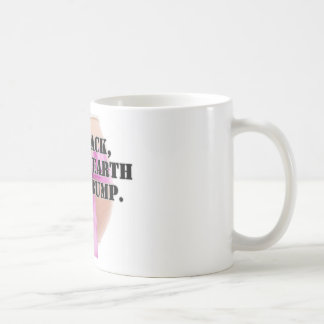Laid back, down to earth with a bump - products. basic white mug