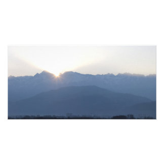 Laid down Grenoble-native sun Photo Cards