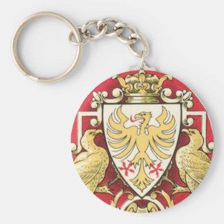 L'aiglon Eagle Vintage Label Keychains