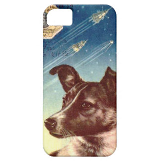 Laika The Russian Space Dog iphone 5 iPhone 5 Cases