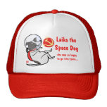laika the space dog hat