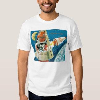 Laika, the space dog. tshirts