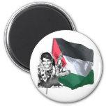 Laila Khaled Fridge Magnets