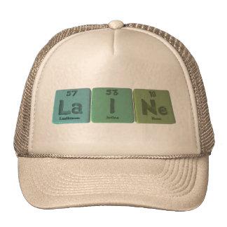 Laine  as Lanthanum Iodine Neon Trucker Hats