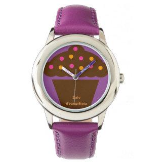 Laís clock wristwatch