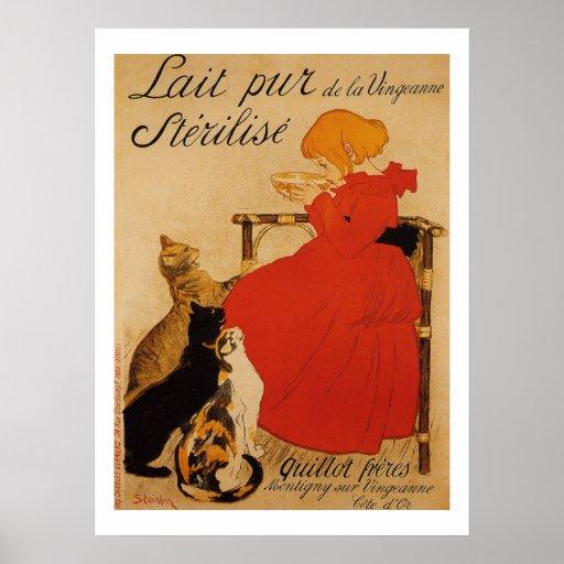 Lait Pur de la Vingeanne Sterilise Posters