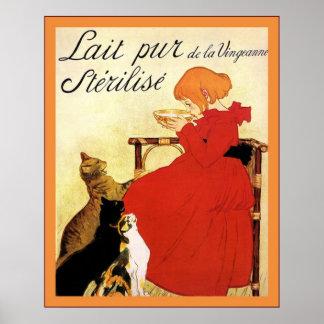 Lait Pur de la Vingeanne Stérilisé Poster