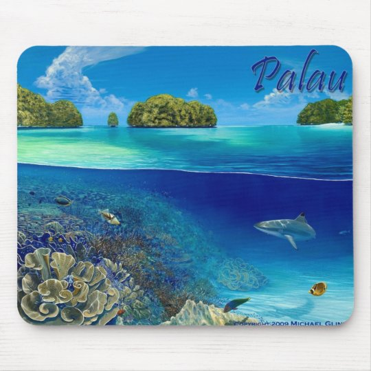 "Lake 3"" by Michael Glinski, mouse pad"