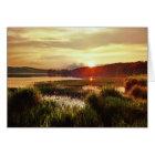 Lake Acworth Sunset, Georgia Card