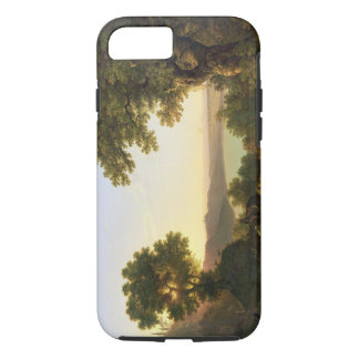 Lake Albano, Italy, 1777 (oil on canvas) iPhone 8/7 Case