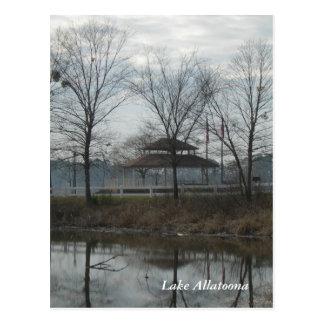 Lake Allatoona Gazebo Postcard