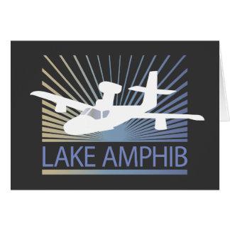 Lake Amphib Aviation Greeting Card