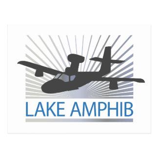 Lake Amphib Aviation Post Card