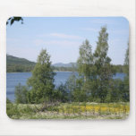 Lake and Fence Mouse Mat