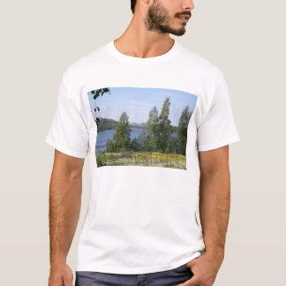 Lake and Fence T-Shirt