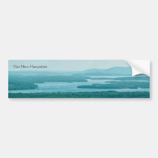 Lake and Mountain View Bumper Sticker